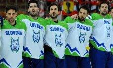 Slovēnijas hokejisti izšķirošajā spēlē nodrošina atgriešanos PČ elites divīzijā