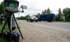 Pēc fotoradaru uzstādīšanas nedaudz uzlabojas statistika uz ceļiem