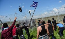 Maķedonija nelegālo imigrantu izraisītajās nekārtībās vaino NVO