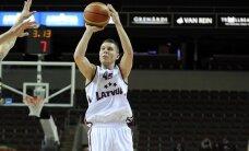 Latvijas basketbola izlase pirmo reizi uzvar Turcijas valstvienību