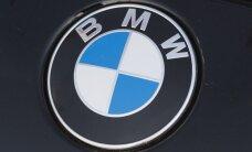 Ventspilī vīrietis krietnā skurbulī vada automašīnu 'BMW'