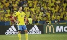Zviedrijas izlases galvenais treneris Hamrens: cerēju uz skaistākām Ibrahimoviča atvadām