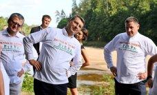 Atklāts divus kilometrus garš veselības maršruts Ogrē; vingro arī Vējonis un Belēvičs