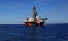 Spēcīga viļņa triecienā uz 'Statoil' naftas platformas Ziemeļjūrā viens bojāgājušais