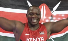 Kenijietis Jego par pasaules čempionu šķēpmešanā kļūst ar trešo visu laiku tālāko metienu
