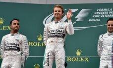Rosbergs otro gadu pēc kārtas uzvar Austrijas 'Grand Prix' posmā