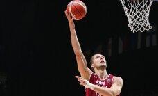 Latvijas basketbola izlase otrajā pārbaudes mačā piekāpjas Francijai