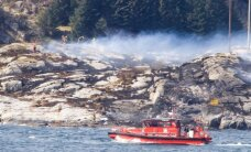 Norvēģijā nogāzies helikopters ar 13 cilvēkiem