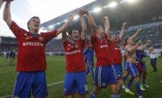 Savainotā Cauņas pārstāvētā CSKA komanda gūst vēl vienu pārliecinošu uzvaru Krievijas čempionāta spēlē