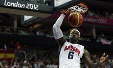 ASV basketbola izlase 14. reizi kļūst par olimpiskajiem čempioniem