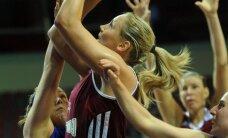 Latvijas sieviešu basketbola izlase pieveic pastarīti Luksemburgu