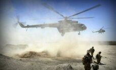 Afganistānas militārā helikoptera katastrofā 17 bojāgājušie