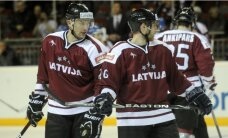 Latvijas hokeja izlase arī otrajā spēlē zaudē Čehijai