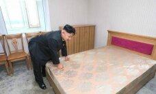 Ким Чен Ын стал героем мемов из-за странного фото с кроватью