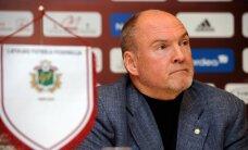 Latvijas futbola izlase turpinās spēlēt 'Skonto' stadionā, saka Indriksons