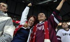 Latvijas hokeja valstsvienība pārbaudes spēlē atkārtoti uzņem Krieviju