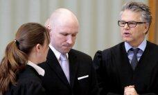 Norvēģija pārsūdzēs spriedumu lietā par necilvēcīgu izturēšanos pret Breivīku