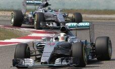 Rosbergam un Hamiltonam dubultuzvara bez intrigām aizvadītajā Meksikas 'Grand Prix'