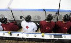 Latvijas hokeja izlasē gatavošanās sākumposmā iespēju sevi parādīt dos junioriem