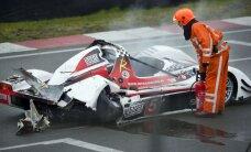 Autobraucēja Štāla nokļuvusi slimnīcā pēc negadījuma sacensībās Nīderlandē