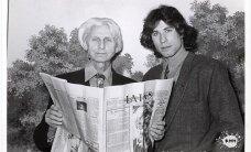 Arhīva foto: Anšlavs Eglītis un Holivudas slavenības