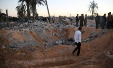 Sprādzienā un sadursmēs nogalināti 32 Lībijas nacionālās vienotības valdības karavīri
