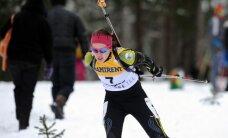 Biatloniste Bendika sensacionāli izcīna piekto vietu Pasaules kausa posmā