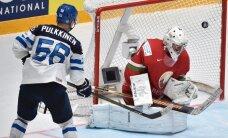 Video: Somijas hokejisti skaisti apspēlē Baltkrieviju