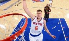 Porziņģis pakāpies uz septīto vietu NBA 'All-star' Austrumu konferences garo spēlētāju balsojumā