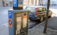 Мошенники засовывали пакеты в парковочные автоматы Rīgas satiksme
