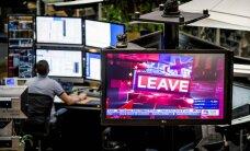 Finanšu tirgu pārņem panika: krīt britu mārciņas vērtība