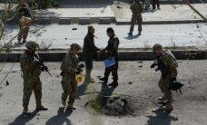 Talibu spridzinātājs pašnāvnieks uzbrucis NATO konvojam Kabulā