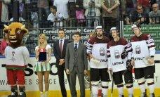 Miķelis Rēdlihs, Kulda un Daugaviņš – labākie Latvijas hokejisti pasaules čempionātā