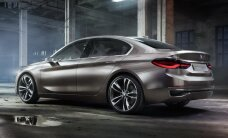 BMW prezentējis kompakta sedana prototipu