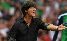 Lēvs: Vācijas izlasei pēc pirmā puslaika vajadzēja būt vadībā ar četriem vārtiem