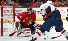 Daugaviņa pārstāvētās 'Senators' vārtsargs Andersons atzīts par NHL nedēļas vērtīgāko spēlētāju
