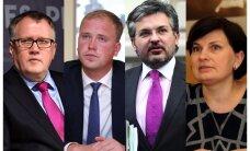 'Vienotība' izvirza sešus kandidātus trim vakantajām ministru vietām