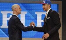 NBA draftā Filadelfijas '76ers' ar pirmo numuru izvēlas austrālieti Simonsu; Gromovs neviena kluba uzmanību nesaņem