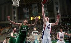 Blūma 'Panathinaikos' pagarina sēriju pret CSKA; 'Maccabi Electra' noliek Eirolīgas čempionu pilnvaras