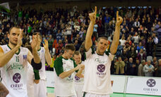 Video: 'Valmiera/ORDO' basketbolistu vēsturiskā uzvara 'Aldaris' LBL regulārajā sezonā