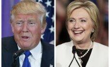 Klintone un Tramps uzvar priekšvēlēšanās Arizonā