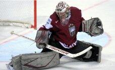 Gudļevskim otrajā spēlē pēc kārtas uzticēta Latvijas izlases vārtu drošība