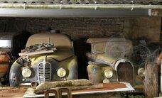 Francijas pamestajā fermā atrastā auto kolekcija pārdota par 25 miljoniem