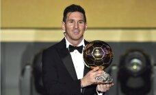 Par gada labāko futbolistu nosaukts argentīnietis Mesi