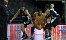 'VEF Rīga' atspēlē deficītu un izrauj uzvaru pār 'Ventspils' komandu