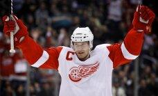 Niklass Lidstrēms aizvadīs 20.sezonu 'Red Wings' komandas sastāvā