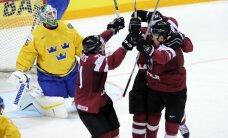 Video: Latvijas hokeja izlase atņem Zviedrijai punktu pasaules čempionāta ievadā