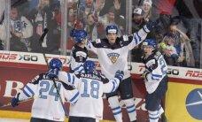 Somijas U-20 izlase pārspēj Krieviju pasaules junioru hokeja čempionāta finālā
