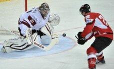 Latvija zaudē arī Austrijai un apdraud savu palikšanu PČ augstākajā divīzijā