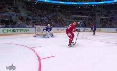 Video: KHL Zvaigžņu spēlē realizē fantastiski skaistu 'bullīti'